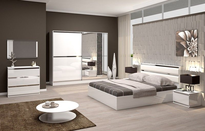 Complete Slaapkamer Kopen : Chrono slaapkamerset sefa meubel